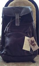 Mudd Brown Leather Backpack