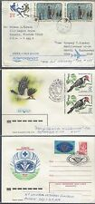 jThree Russian Letter sheets various Issues. Covers,  081