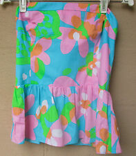 NEW/TAG $98  Lilly Pulitzer Shorely Blue Shandy Cotton Top  NEW  Size 8