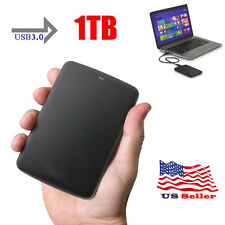 "NEW 1TB 2.5"" Toshiba Canvio Basics Portable External Hard Disk Drive USB3.0 Blak"