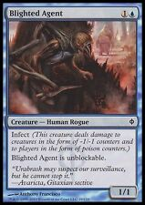 Magic the Gathering MTG 4x Blighted Agent x4 LP/LP+ New Phyrexia Playset x 4