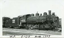 5J428 RP 1940s? WESTERN PACIFIC RAILROAD ENGINE #152