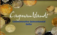 Cayman Islands, $1, 2003, P-30b QEII, UNC > Commemorative + Folder (4000 issued)