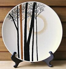 Vintage Mikasa Indian Feast Moon Shadow Dinner Plate DE858 Speckled Trees Forest