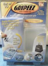 Gripeez Peel-n-Stick Gripper For Hanging Objects Inventel Seen On TV Clear 00398