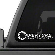 Aperture Laboratories Portal Game Vinyl Decal Sticker - FREE S&H