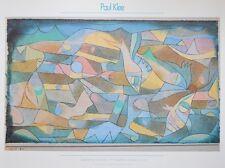 Paul Klee Spielende Fische- Miniaturarting Poster Kunstdruck Bild 45x60cm