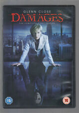 DAMAGES - SEASON 1 - UK R2 DVD - SERIES ONE - (mint condition - as new/unplayed)
