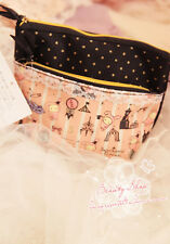 Sentimental Circus San-X Cute canvas double layer cosmetic bag party handbag 1pc