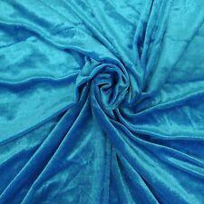 Samt Stoff solide 63 breite blaue Vorhang machen Nähen Modellbau 1