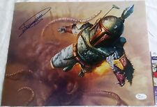 Dickey Beer 11x14 Autographed Photo 4 Signed Boba Fett JSA ROTJ PSA Star Wars