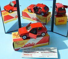 Solido Hachette réédition, 2000-2002, 1/43, Peugeot 205 GTI, décalques, 1984...