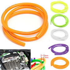 Universal Motorcycle Bike 1M Petrol Fuel Hose Gas Oil Pipe Tube  8mm O/D 5mm I/D