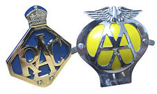 Royal Automobile Club + AA Car Grille Badge Gift Set Including Fixings