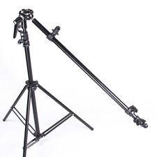 Photo Studio Reflector Arm Boom Bracket Holder Swivel Head +  Light Stand Tripod