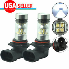 2x 9006 HB4 20-SMD 100W LED Cree High Power 6000K White Fog Driving light Bulb