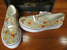 NEW VANS Authentic SKATE SHOES Kids SIZE 2 DISNEY WINNIE THE POOH