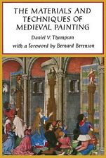 Materials and Techniques of Medieval Painting / painting