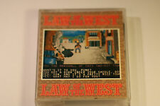 RARE Law Of The West Commodore 64 / 128 Game Tape by Accolade/U.S CASSETTE GAME
