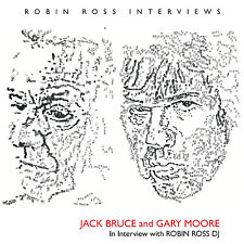 GARY MOORE & JACK BRUCE New Sealed 2017 UNRELEASED 1994 INTERVIEWS CD