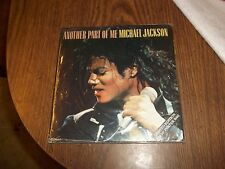 """MICHAEL JACKSON ANOTHER PART OF ME LIMITED POSTERBAG OFFICIAL 7"""" SINGLE NO PROMO"""