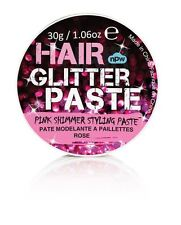 Pink Shimmer Hair Glitter Styling Paste Gel Wax 30g - Free 1st Class Delivery