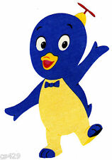"9.5"" BACKYARDIGANS PABLO  CHARACTER  FABRIC APPLIQUE IRON ON"