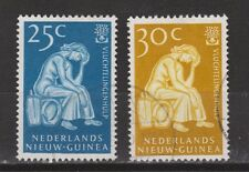 Indonesia Nederlands Nieuw Guinea New Guinea  61-62 used gestempeld 1960