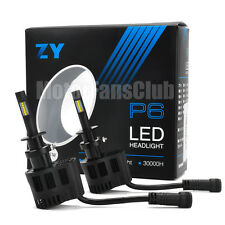 New ZY P6 90W 9000LM LED Headlight Kit Conversion Canbus Bulb 880 881