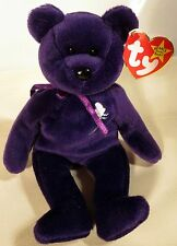 Mint TY Beanie Baby Princess Diana 1997 Made in China With w/Space P.E. Pellets