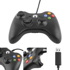 New Wired USB Game Pad Controller For Microsoft Xbox 360 PC Windows 7 8 10 XP TL
