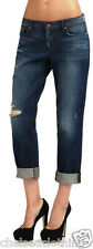 "£260 NEW J Brand Jeans Distressed Blue T30/L27"" Aidan Slouchy Boy Ringer Slashed"