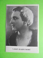 figurines actors stickers akteurs figurine i miti di hollywood 7 john barrymore
