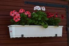 2pcs Heavy duty  window box/trough/planter bracket wall mounted 145mm capacity