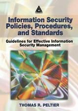 Information Security Policies, Procedures, and Standards-ExLibrary