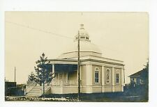 Congregational Church RPPC St. John's NEWFOUNDLAND Rare Antique Photo 1910s