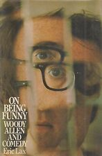 """""""On Being Funny: Woody Allen and Comedy"""" SIGNED by WOODY ALLEN & Author Eric Lax"""