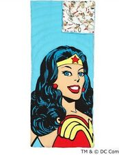 NEW Pottery Barn Kids Super Hero WONDER WOMAN Sleeping Bag