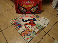 SPIDERMAN--MONOPOLY BOARD GAME (LOOK) COLLECTOR'S EDITION