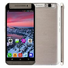 "Unlocked 5.5"" 3G GSM Dual Core 2SIM 4GB Rotating Camera Smartphone Cell Phone"