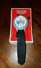 Vintage Heuer TAG alloy case Yacht Timer NOS Ref.653.515 sailing hydroplane
