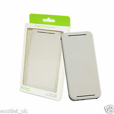 Genuine Official HTC HC V941 Flip Case Cover Wallet for HTC One M8 White NEW