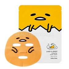 [HOLIKA HOLIKA] Gudetama LAZY & EASY Character Mask Sheet 23ml / Soothing