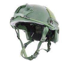 Lvl IIIA ATE® Ballistic Kevlar High Cut HHV Helmet-SOF MICH ACH-3 OD Green L/XL