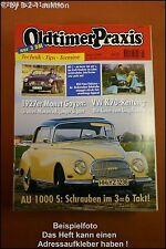 Oldtimer Praxis 3/96 VW K70 Auto Union 1000 S