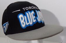 Toronto Blue Jays MLB Baseball New Era Fits Blue Hat/Cap Snapback Logo
