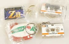 FUJI AND OLYMPUS KEY CHAINS, SET OF 3