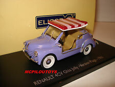 ELIGOR RENAULT 4CV GHIA JOLLY VERSION PLAGE 1961 au 1/43°