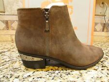 NEW SAM EDELMAN CIRCUS HOLT SUEDE LEATHER ANKLE BOOTIES BOOTS WOMENS 7 FREE SHIP