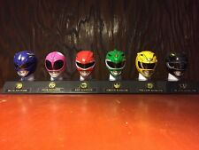 Power Rangers Legacy Mask Collection Mighty Morphin MMPR 20th Anniversary Set